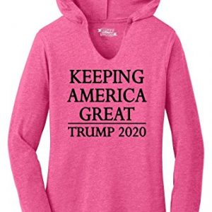 HAASE UNLIMITED Women for Trump MAGA USA Vote Elect Unisex Hoodie Sweatshirt